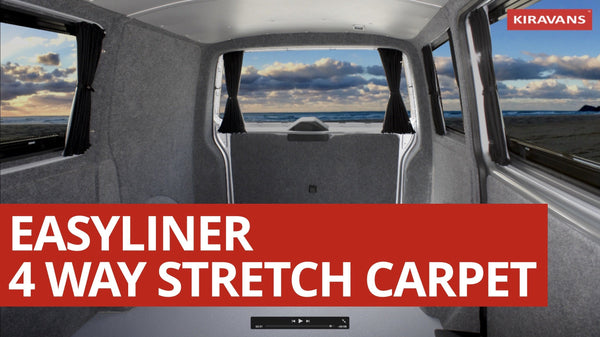 Kiravans Easyliner - 4 Way Stretch Camper Van Lining Carpet