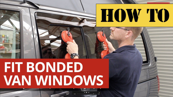 Video: How to Professionally fit VW Van Windows to a VW Transporter T5/T6