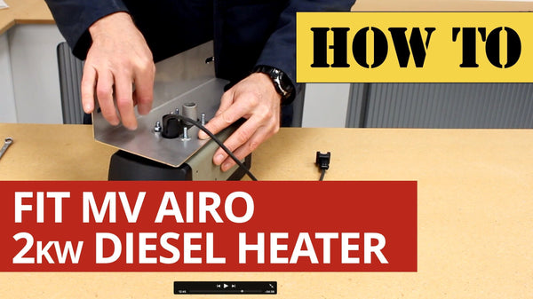 Video: How to fit the Mikuni MV Airo 2kw Diesel Heater