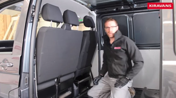 Video: Kiravans Show You How to Remove a Bulkhead from a VW T5 T6 Campervan