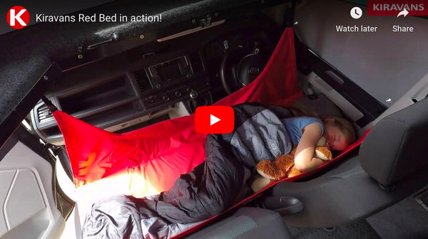 Video: Kiravans Red Bed in action!