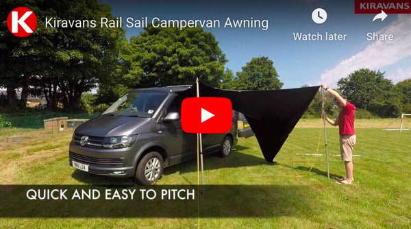 Video: Kiravans Rail Sail Campervan Awning