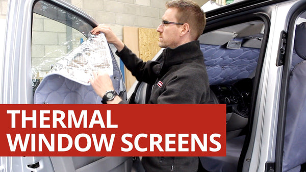 Kiravans Thermal Window Screens