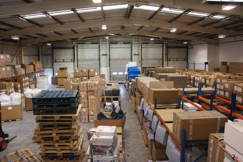 Kiravans warehouse in Yorkshire image