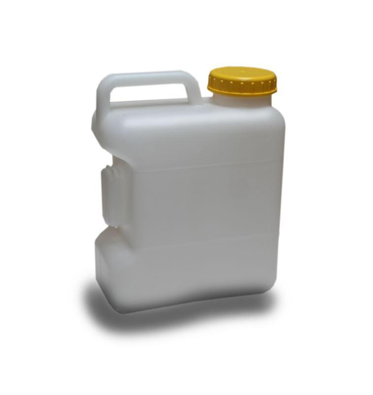 10 Litre Water Container - Fixed Handle (Screw Top) with cap