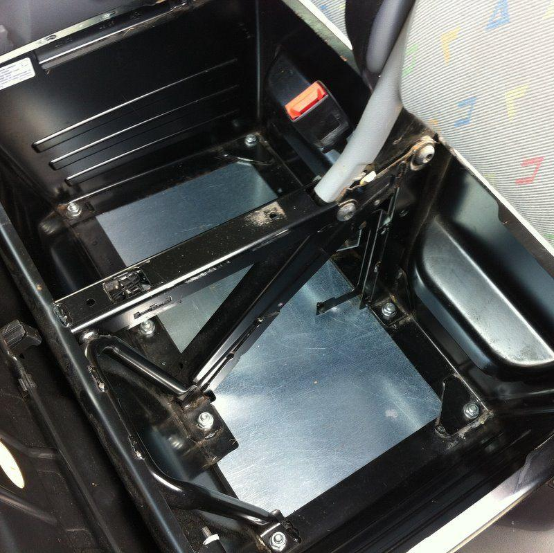 Floor for Inside the T5/T6 Double Seat Box