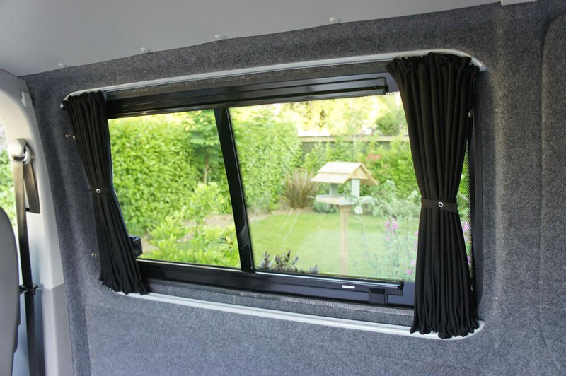 VW T5/T6 Curtain Kit - Left Back LWB (Blackout)