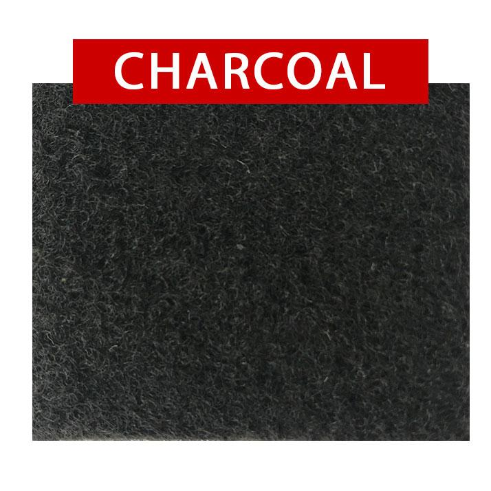 4-Way Stretch Carpet Lining Budget Bundle | Choose Your Colour Kiravans Charcoal