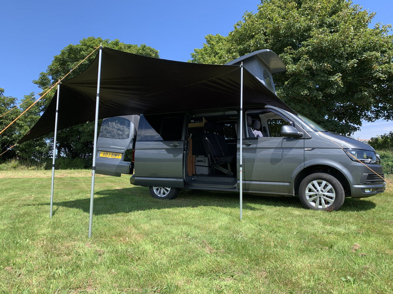 Kiravans Railsail Campervan Awning (for Right Side of Van) Kiravans