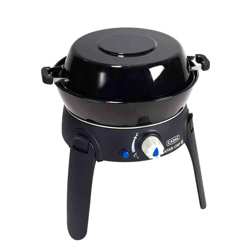 Safari Chef 2 LP Compact BBQ with Folding legs (Piezo Ignition) Cadac