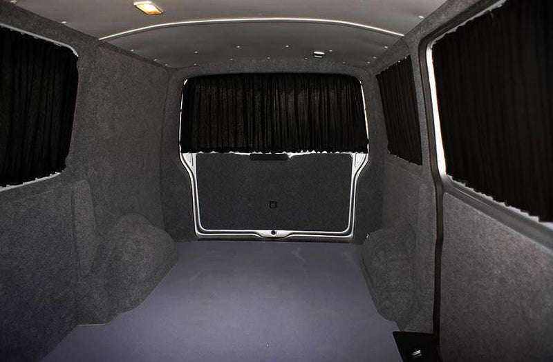 Trafic / Vivaro 2014+ Curtain Kit - Right Back LWB (Blackout) Kiravans