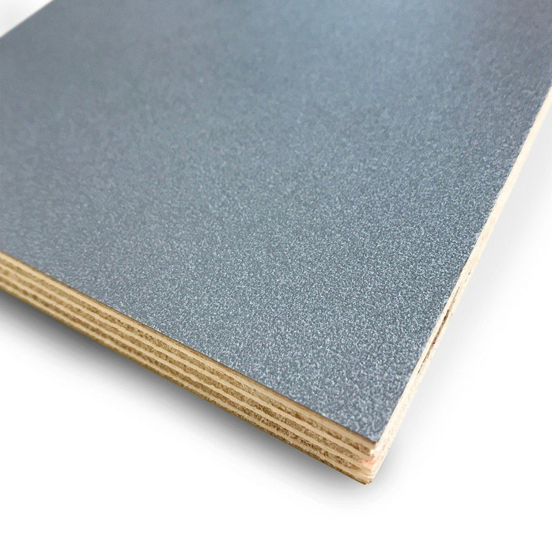Blue Grey Metallic - Plywood Sheet