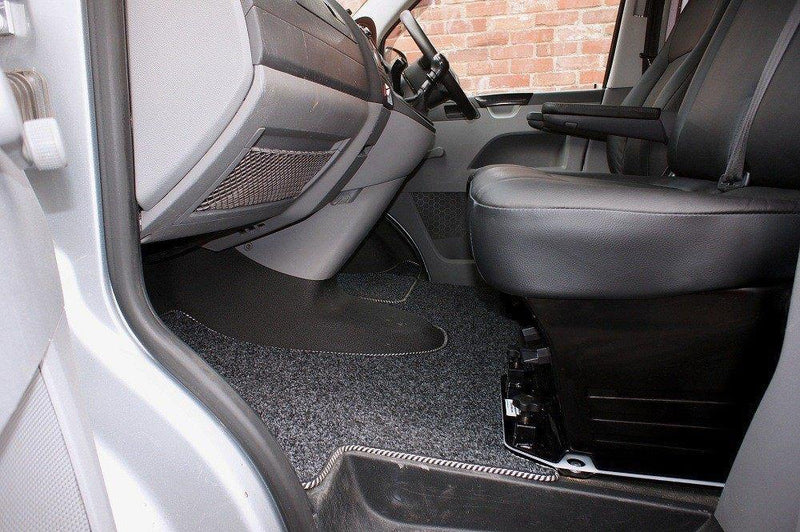 Cab Mat - For the VW T5/T6 Double Seat Swivel (Right Hand Drive)