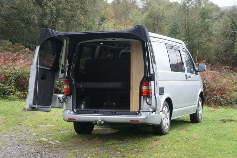 Kiravans Barn Door Awning - VW T5/T6 (with Spoiler)