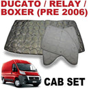 Ducato/Boxer/Jumper Cab Silver Screens (Series 3 & 4 Pre-2006)
