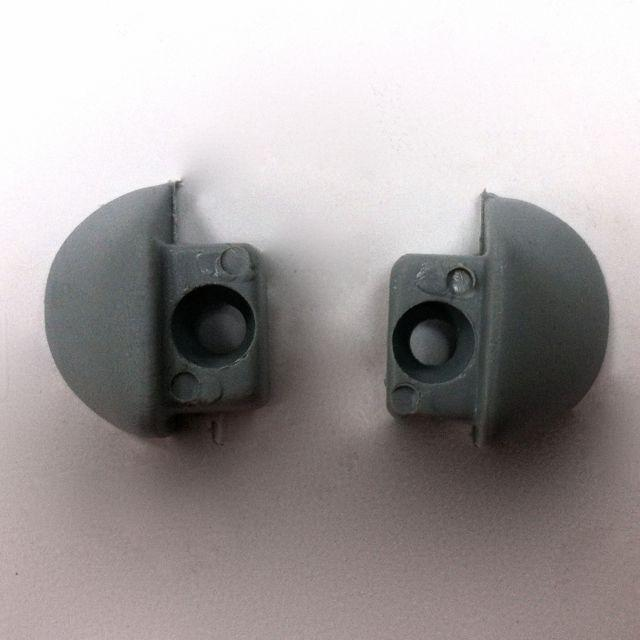 End Stops Pair (Grey)