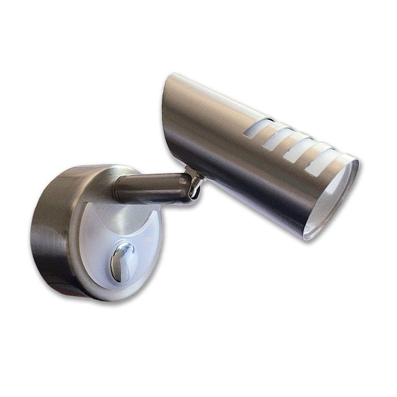 Dimatec Mini Spotlight Nickel LED Light 1W - Touch Controlled