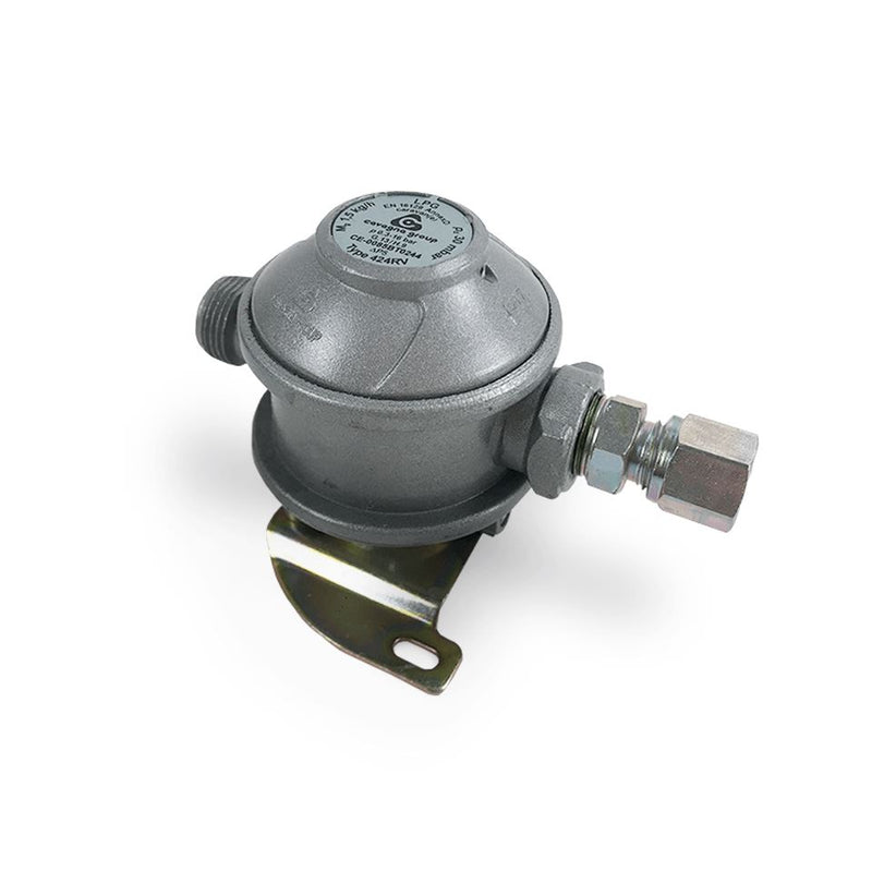 Gas Regulator - 30m Bar c/w 8mm Outlet Nozzle