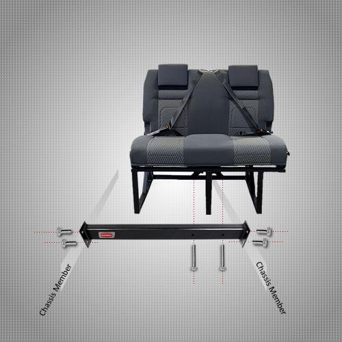 Certified RIB seat Installation System Fitting Kit by Kiravans