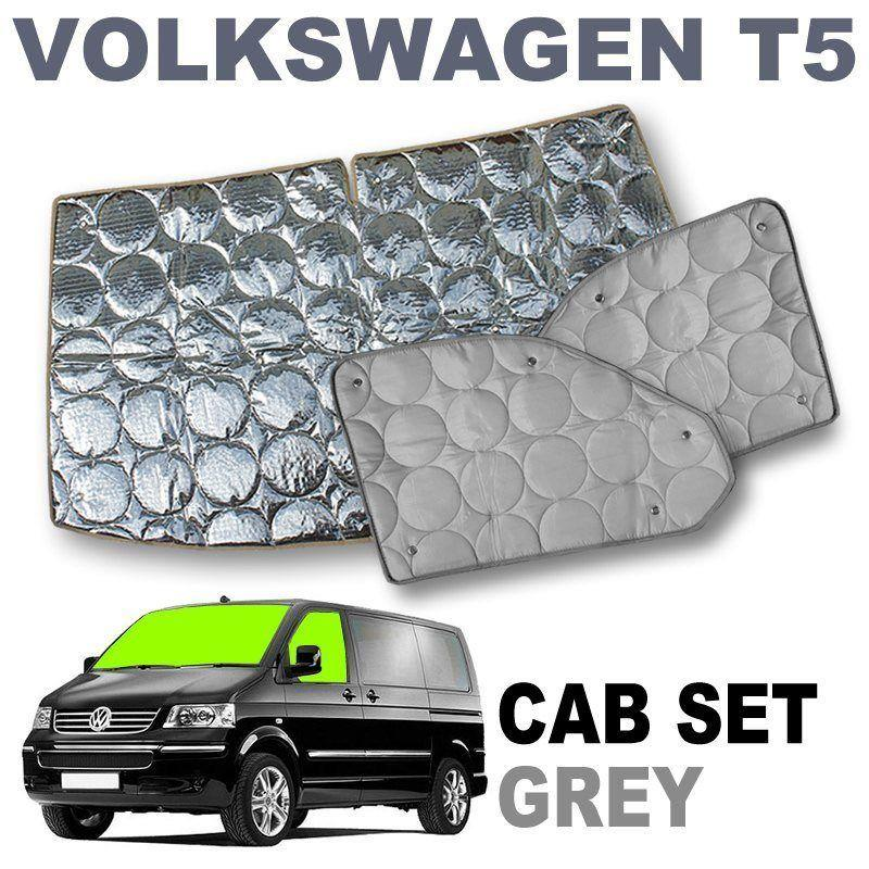 VW T5 Cab Silver Screens