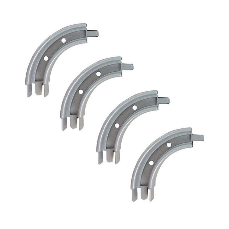 4 x Curve for Surface Mounted Rails Kiravans