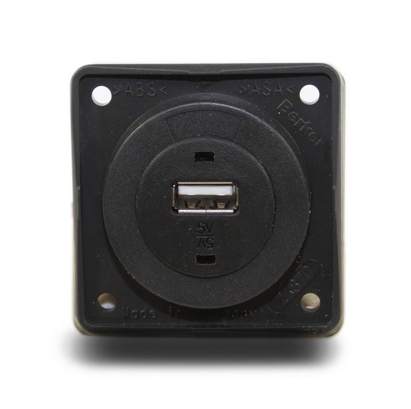 USB Charger 12V (Anthracite)