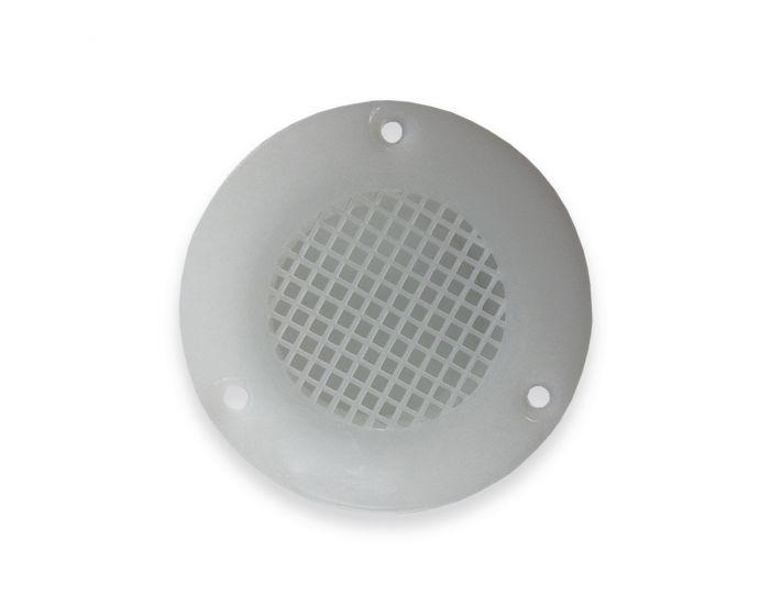 Fawo Air Vent Deep Collar - 60mm Dia - 01539T21690 (White)