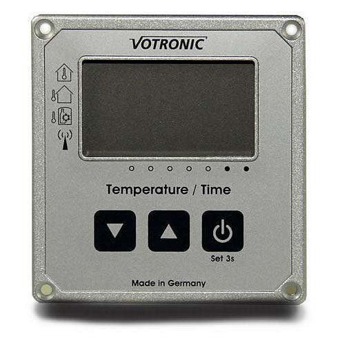Votronic LCD Clock / Thermometer (12v)