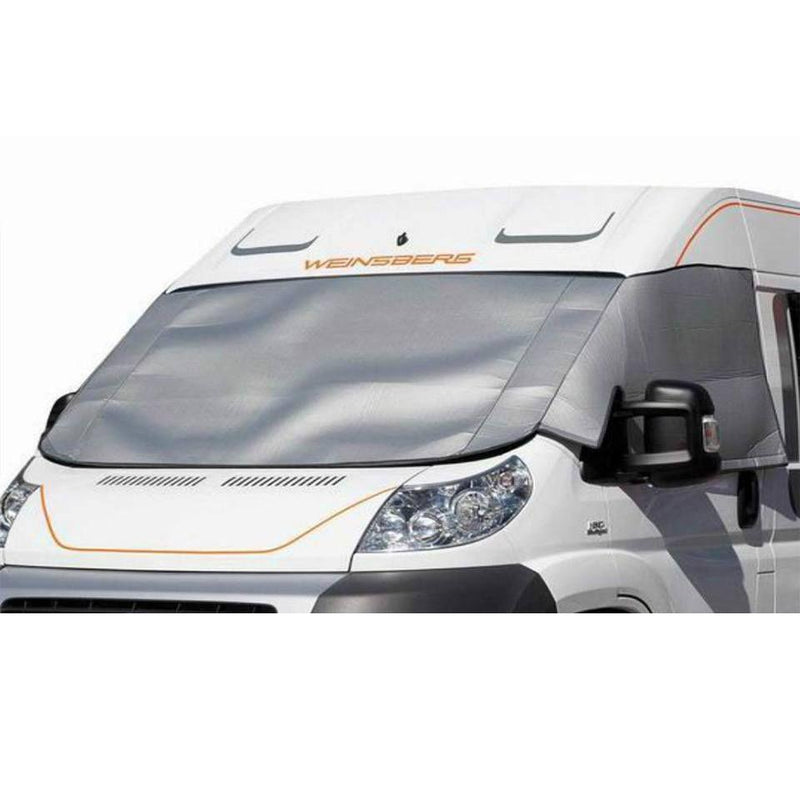 Ford Transit (2014+) Cab External Silver Screens - Climat XT Brunner
