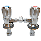 RWB2187 Twin Tap Mixer Only