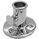 Flag Pole Socket 25mm S/S
