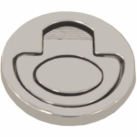 Flush Ring Pull 'Anti Rattle' Cast 316 Stainless