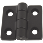 Hinges -Nylon 40x35 Black