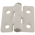 Hinges -Nylon 40x35 White