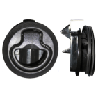 Flush Latch Black