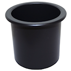 RWB464 Can Holder -Recess Black
