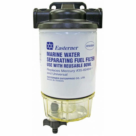 Water Separating Fuel Filter With Clear Bowl And Drain