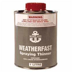 Weatherfast Spraying Thinners