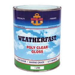 Norglass Weatherfast Poly Clear Gloss