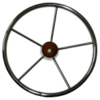 RWB667 Steer Wheel S/S 385mm Tel