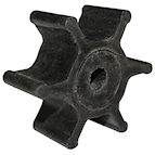 RWB77B Rubber Impeller Only 3/8""