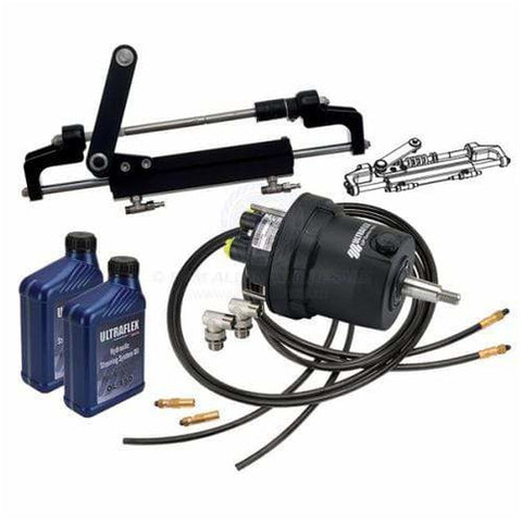ULTRAFLEX HYDRAULIC STEERING HYTECH KITS - QUICKFIT HOSE KIT