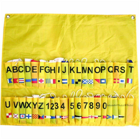 Complete code flag set of 40 flags