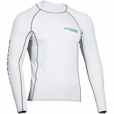 Ronstan CL220 Rash top, UPF 50+, Long Sleeve, Ice Grey