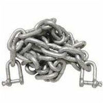 Chain & Shackles 8mm x 2 mts