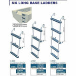 S/S Long Base Ladder - 5 Step