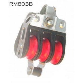 RM803b Triple Sheave Becketted Bullet Block