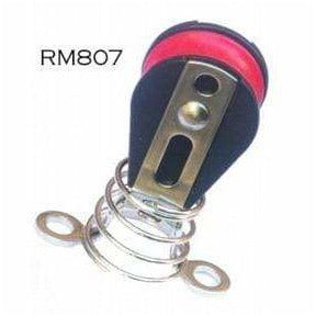 RM807  Single Sheave bullet Block With Saddle + Spring