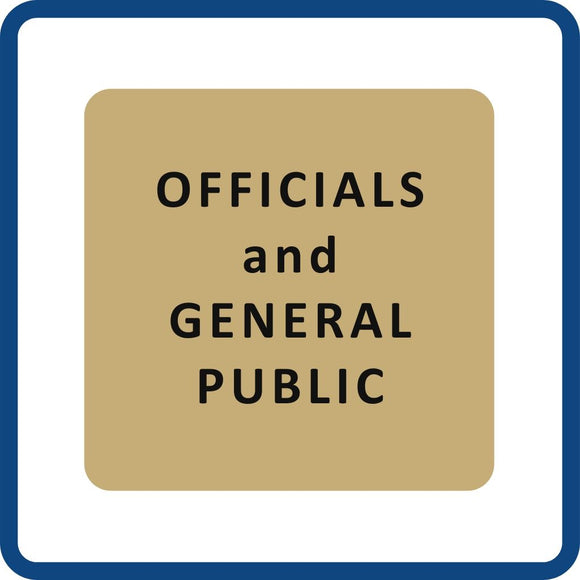 Officials and General Public