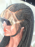 BUKEY CORNROW. (13x4 FRONTAL LACE)